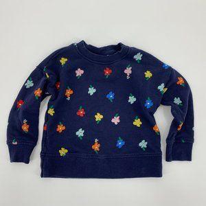 Hanna Andersson Girls Sweatshirt Size 100 4 Blue